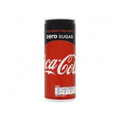 Coca-Cola Zero sugar slimcan