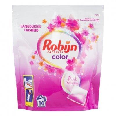 Robijn Wasmiddel capsules color pink sensation