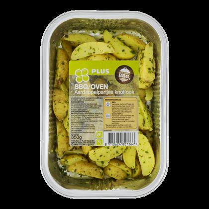 Huismerk BBQ Aardappelpartjes Knoflook