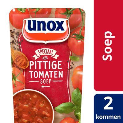 Unox Soep in Zak Pittige Tomatensoep