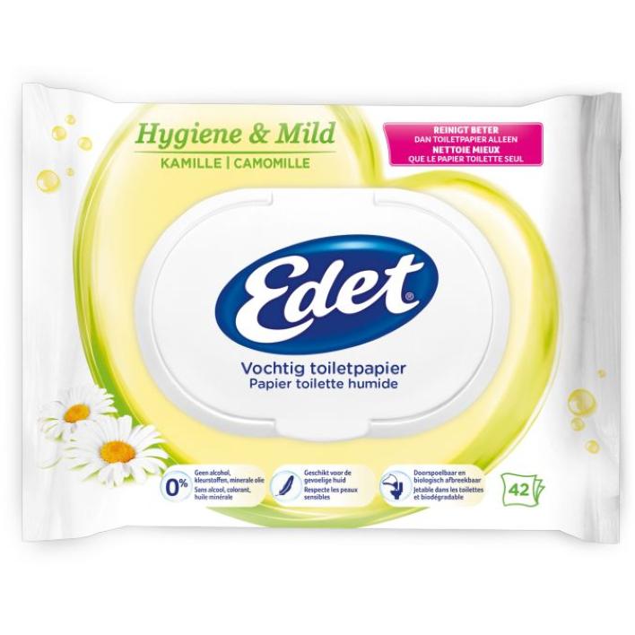 Edet Kamille vochtig toiletpapier