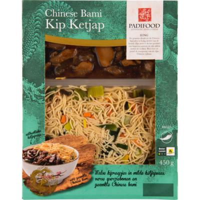 Padifood Chinese bami kip ketjap