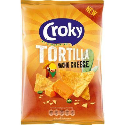 Croky Tortilla nacho cheese