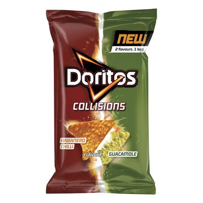 Doritos Collissions chilli & guacamole chips