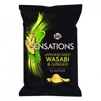 Lay's Sensations japanese wasabi & ginger
