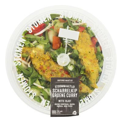 Huismerk Stoommaaltijd kip groene curry