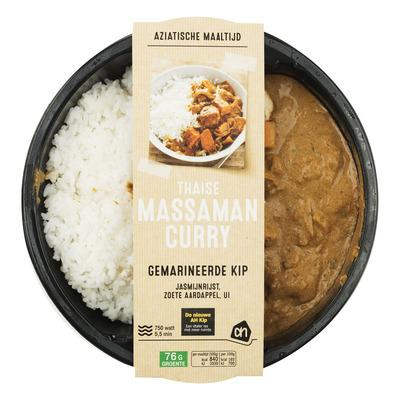 Huismerk Thaise massaman curry