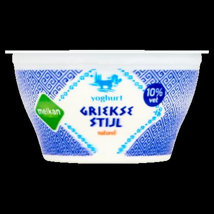 Huismerk Griekse stijl yoghurt 10% vet
