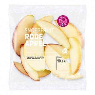 Huismerk Snoepfruit rode appel