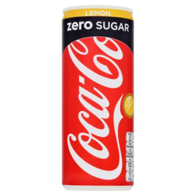 Coca-Cola zero sugar Lemon
