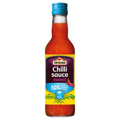 Inproba Chilli Sauce Sweet 50% Minder Suiker