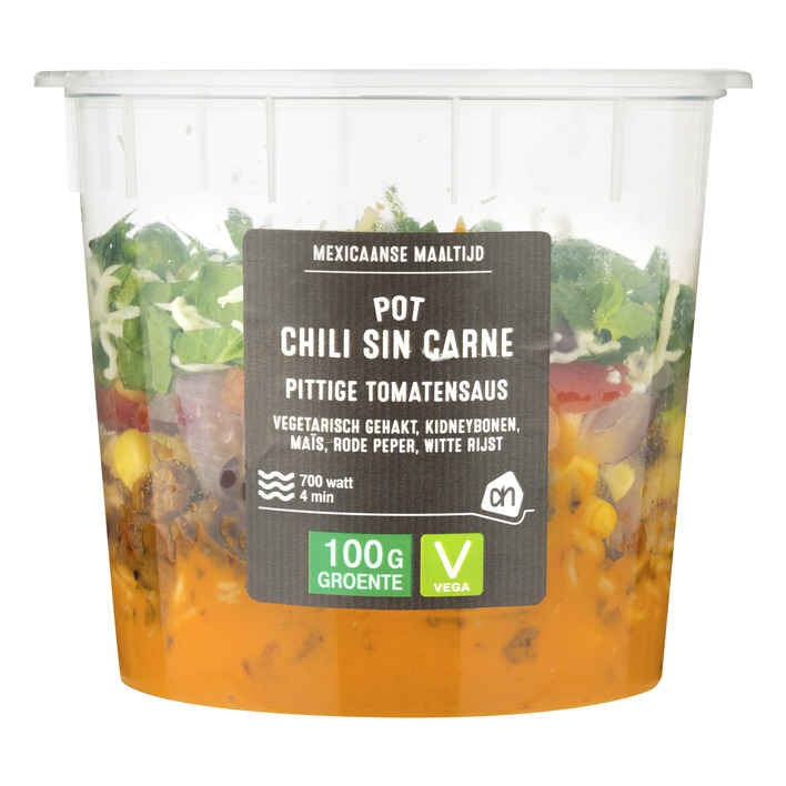 Huismerk Pot Chili sin carne