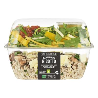 Huismerk maaltijd & salade vegetarische risotto
