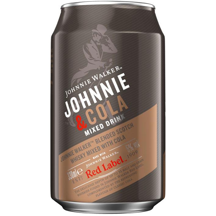 Johnnie Walker Red label & cola