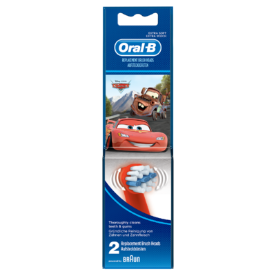 Oral-B Stages Opzetborstels Met Disneyfiguren X2