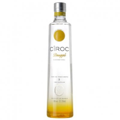 Ciroc Pineapple flavoured vodka