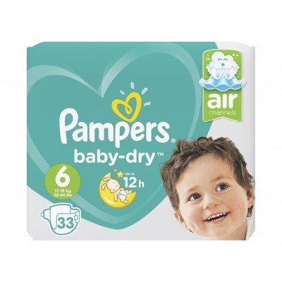 Pampers Baby dry maat 6 value