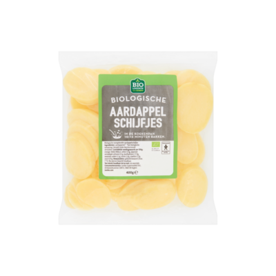 Huismerk Biologische Aardappelschijfjes
