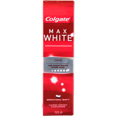 Colgate Tandpasta max white one