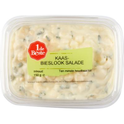 Huismerk Kaas-bieslook salade
