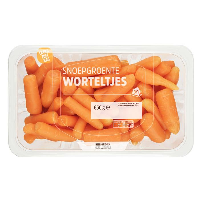 Huismerk Snoepgroente worteltjes