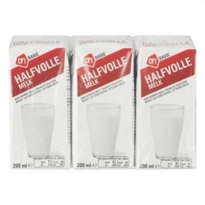 AH BASIC Halfvolle melk