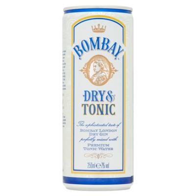 Bombay Dry gin & tonic