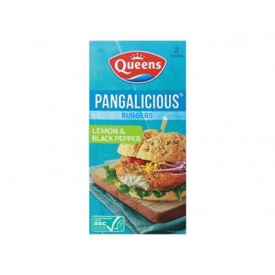 Queens Pangalicious burger lemon