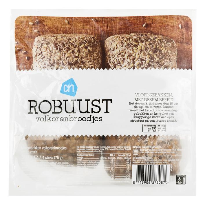 Huismerk Robuust volkorenbroodje