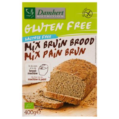 Damhert Glutenvrije bruinbrood mix bio