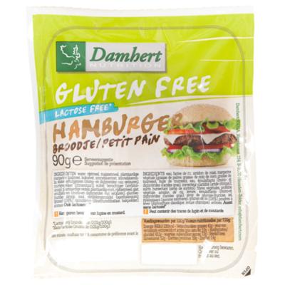 Damhert Glutenvrije hamburgerbroodje