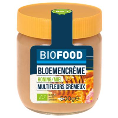 Damhert Biofood Honing bloemencreme bio