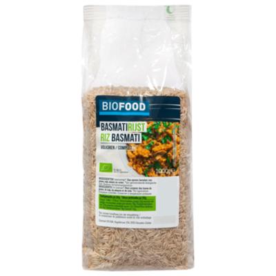 Damhert Biofood Basmati rijst volkoren bio
