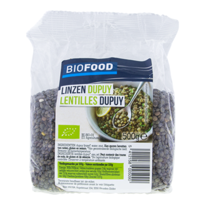 Damhert Biofood Linzen dupuy bio
