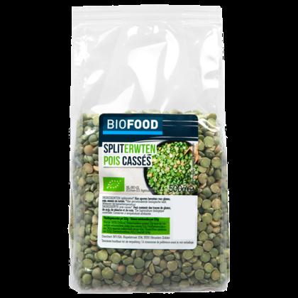 Damhert Biofood Spliterwten bio