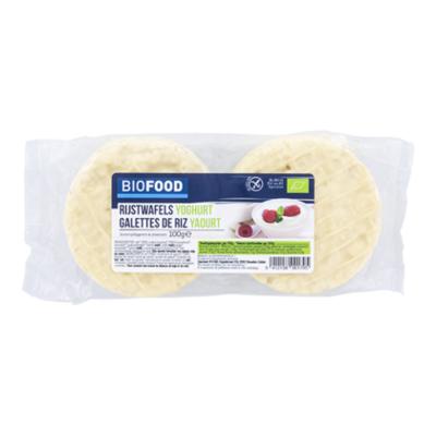 Damhert Biofood Rijstwafels yoghurt bio