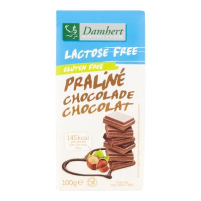 Damhert Lactosevrije chocolade tablet praline