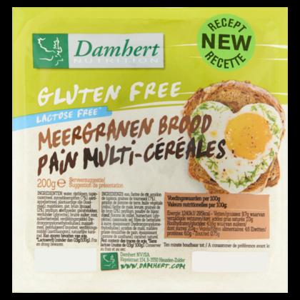 Damhert Glutenvrije brood meergranen