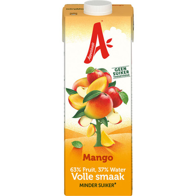 Appelsientje Mango minder fruitsuiker