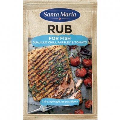 Santa Maria BBQ & grill rub for fish