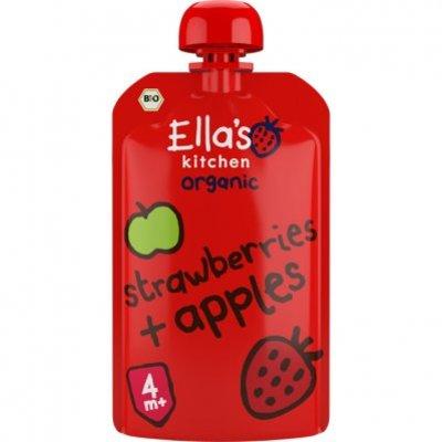 Ella's Kitchen Aardbeien - appel bio 4 mnd+