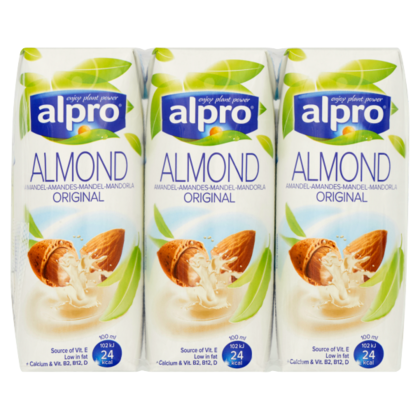 Alpro Amandeldrink original mini 3-pack