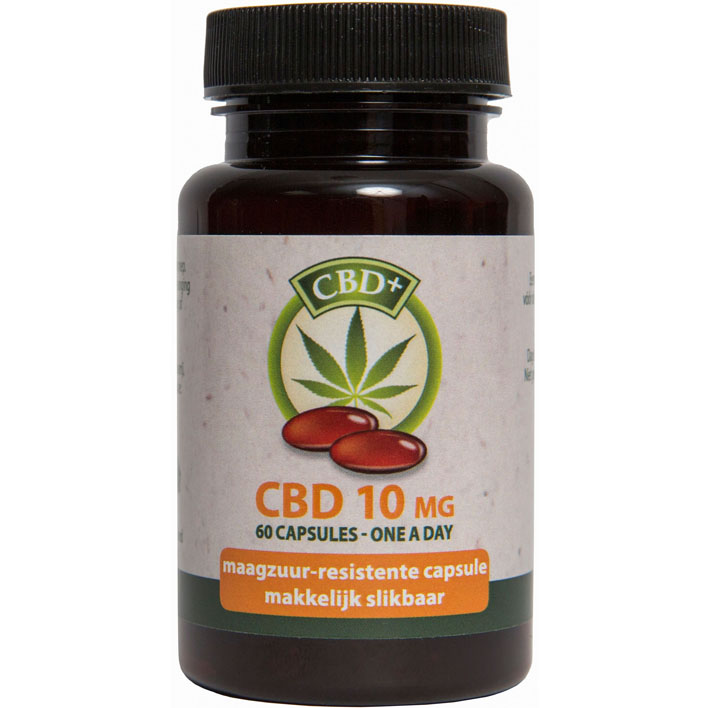 Jacob Hooy Cannabidiol CBD capsules 10 mg