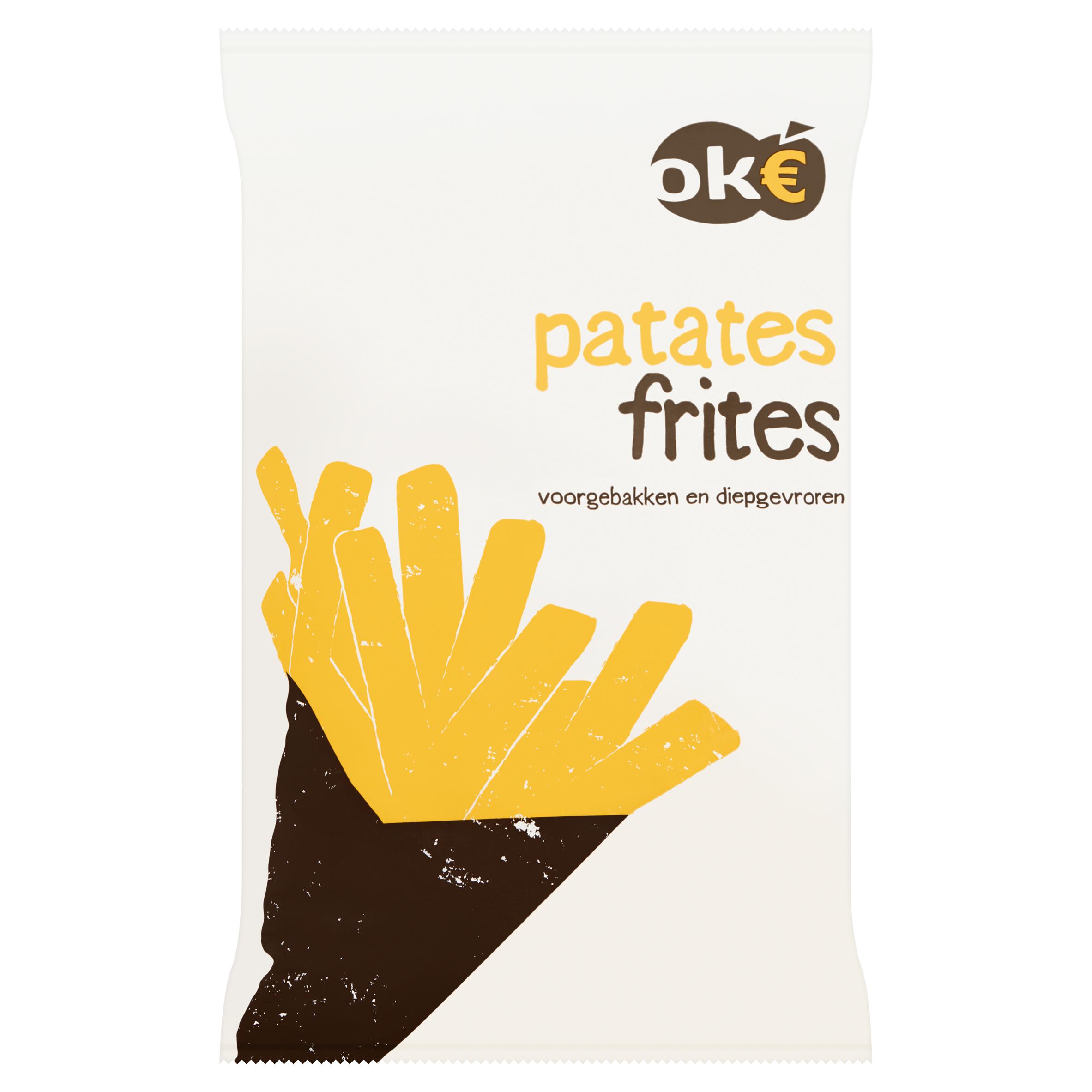 Budget Huismerk Patates Frites 1000 g