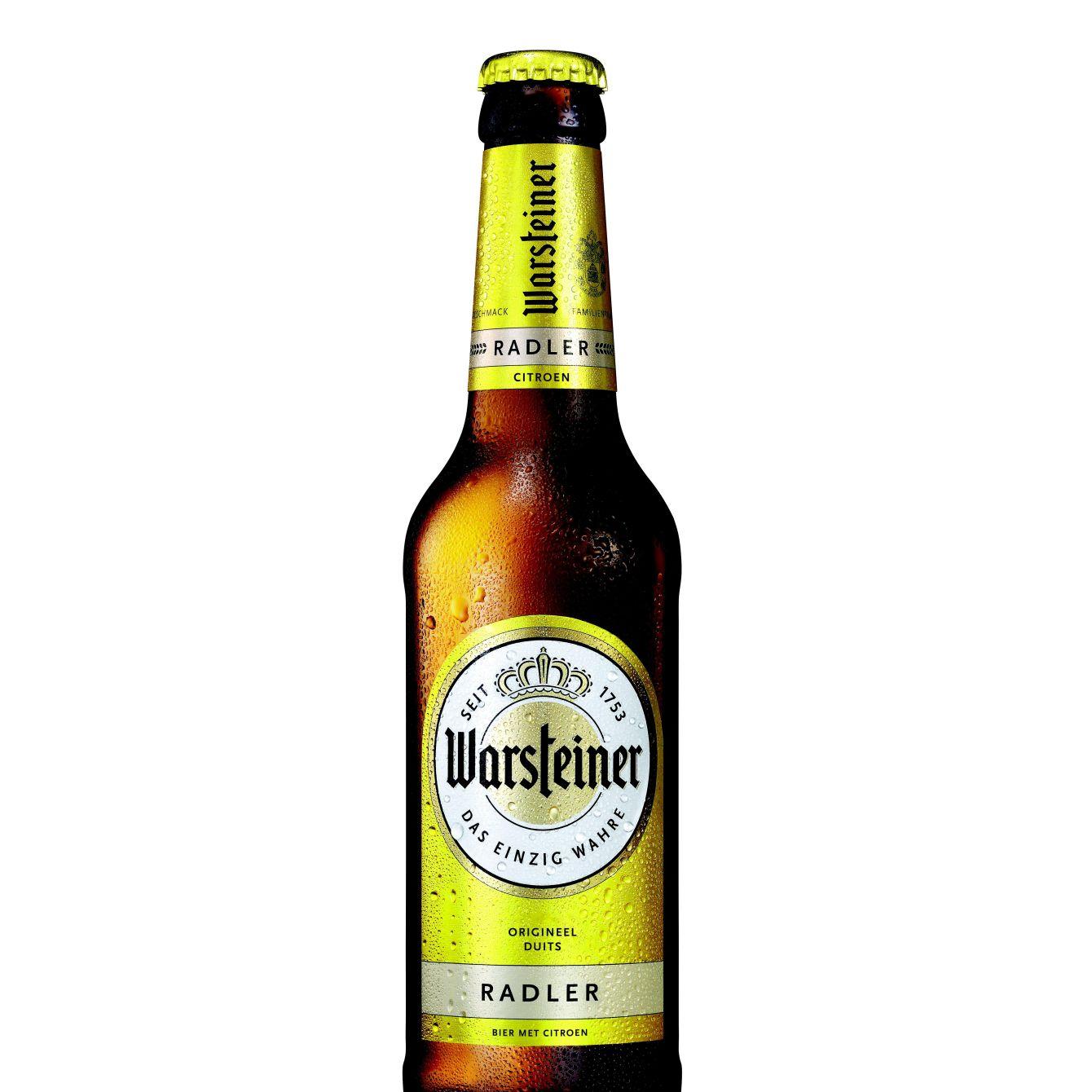 Warsteiner Radler Citroen Bier