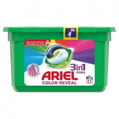 Ariel 3in1 pods kleur kleur&stijl wasmiddel