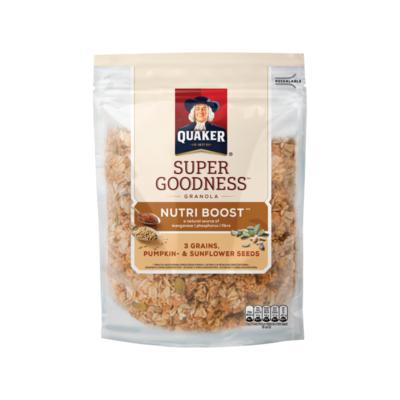 Quaker Granola Super Goodness Noten