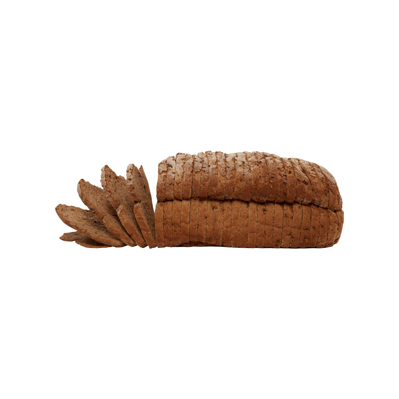 Molenbrood Bio Donker Meergranen Brood Heel