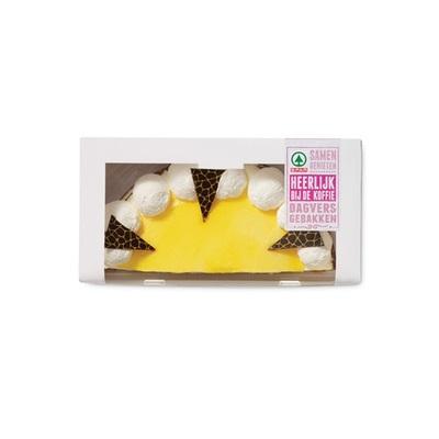 Huismerk mangotaart halve