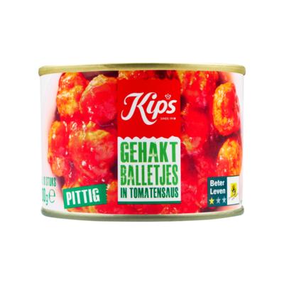 Kips Gehaktballetjes in Tomatensaus
